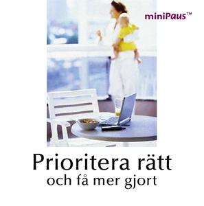 Bild på Prioritera rätt
